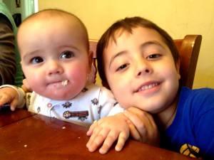 Sadie Bug and Daniel