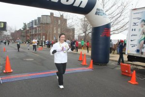 My first official 5k and damn cold!