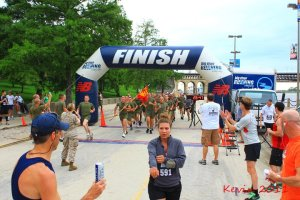 A Run to Honor and a Honor to Run (Marine Week - STL June 2011)
