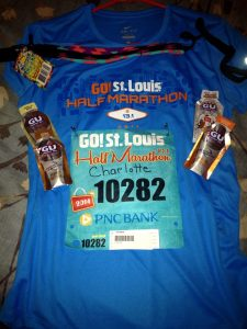 Shirt and Runner Goodies