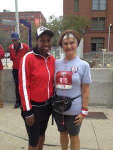 Jackie Joyner Kersee and Me :-)