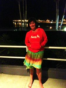 Me before the Eddie Money concert on the Beach