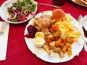 My Plate! HA!