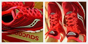 My new rids are Saucony Ride 7! A