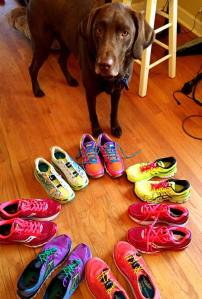 Eli and My Running Shoes